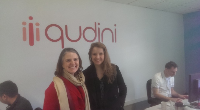 Podcast: Imogen Wethered from @qudini (solving queuing) #IWD2016
