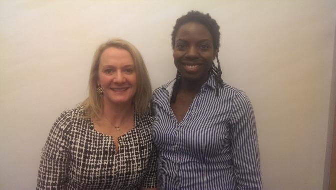 Podcast: Nathalie Richards of @edukitters & Jane van Aken of @cabapp #IWD2016