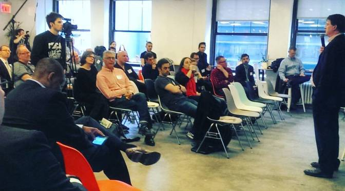Truphone Tour: @jamestagg speaks in NYC.  Thanks @Truphone @Thundrfoot @LMHQ